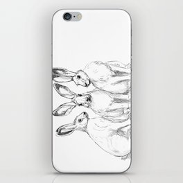 Three Hares sk131 iPhone Skin