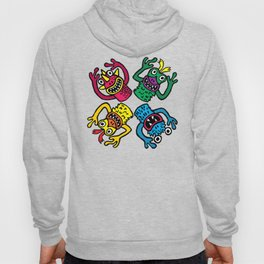 Retro Toy Finger Monsters Hoody