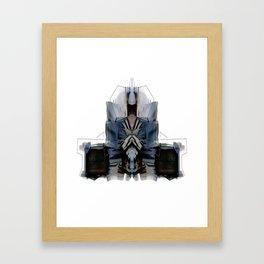 Juke Boombox Framed Art Print