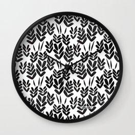 Wheat Fields Wall Clock