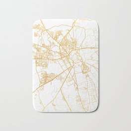 MARRAKESH MOROCCO CITY STREET MAP ART Bath Mat