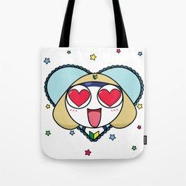 Space Frog In Love. Tote Bag