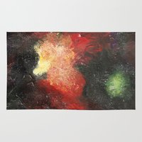 cosmic Area & Throw Rugs featuring Cosmic by Bleriot