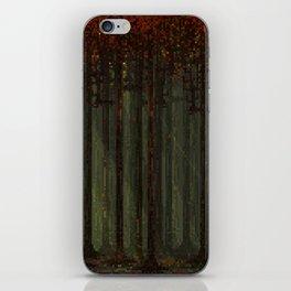 Autumn Forest - Pixel Art iPhone Skin