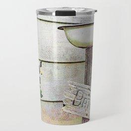 Redneck Birdbath Travel Mug