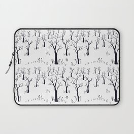 Winter Bare Trees Laptop Sleeve