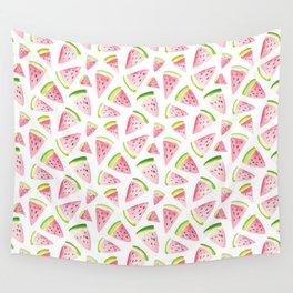 Watermelon Salad Wall Tapestry
