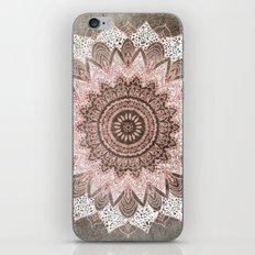 BOHOCHIC MANDALA IN CORAL iPhone & iPod Skin