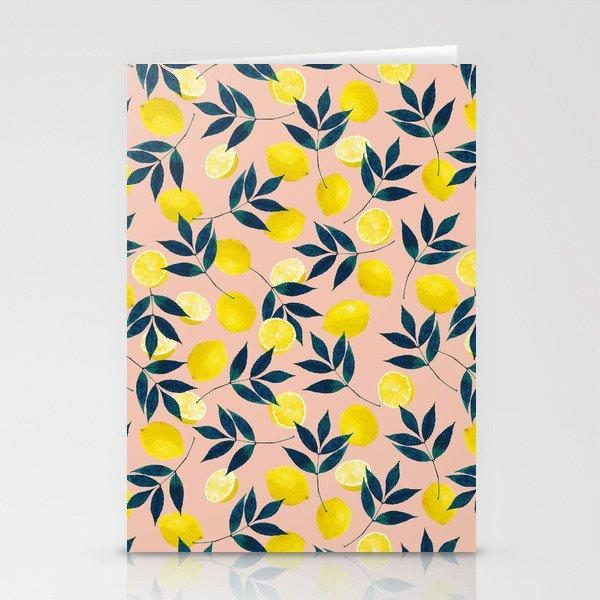 Lemony Goodness Stationery Cards