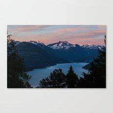Midnight Sunset Canvas Print