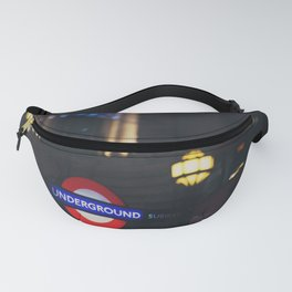 London Underground sign all lit up ... Fanny Pack