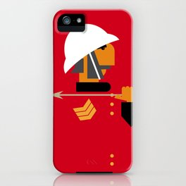 The man who would be king iPhone Case