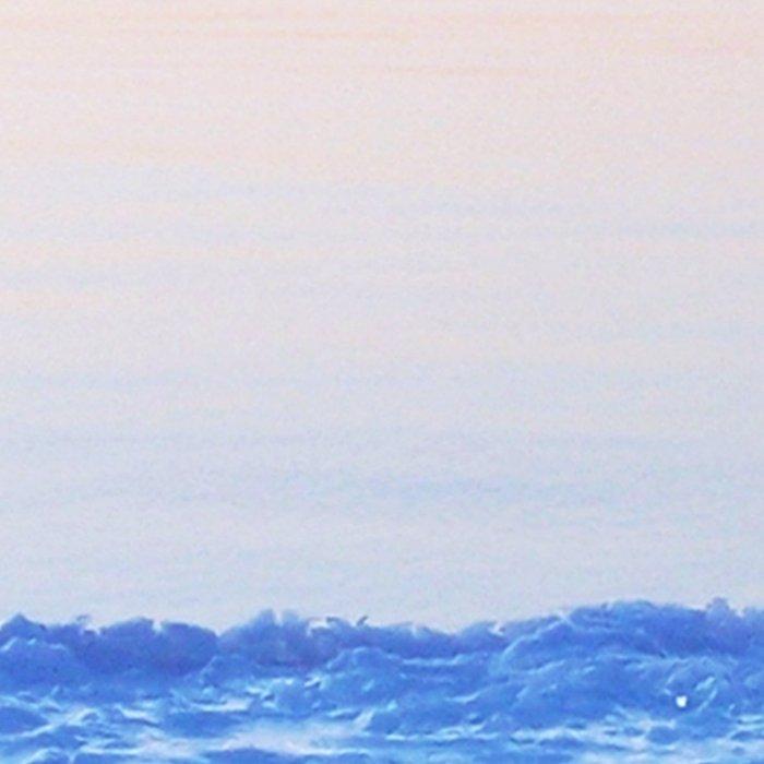 Ice Raft at Dusk on Calm Seas Leggings