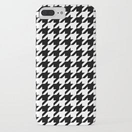 Classic Houndstooth Pattern iPhone Case