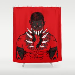 The King Demon  Shower Curtain