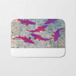 Koi Carps WW Bath Mat