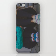 wool socks. iPhone & iPod Skin