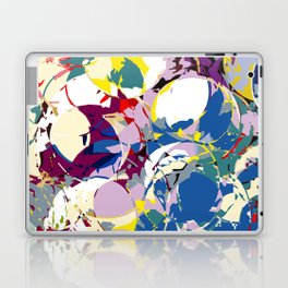 circle color fractures Laptop & iPad Skin