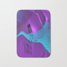 space curvature -7- Bath Mat