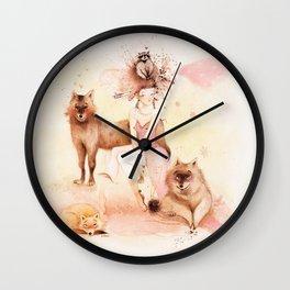 Louve Wall Clock