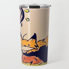 Fox in woods Travel Mug