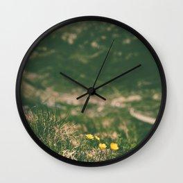 beautiful mountain lndscp Wall Clock