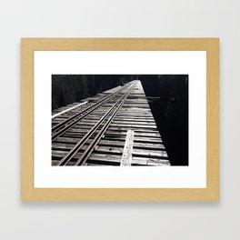 Forgotten Bridge Framed Art Print