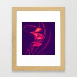 Distorsion Framed Art Print