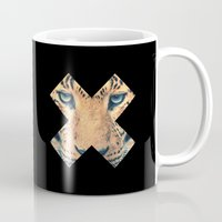 leopard Mugs featuring Leopard by Zavu