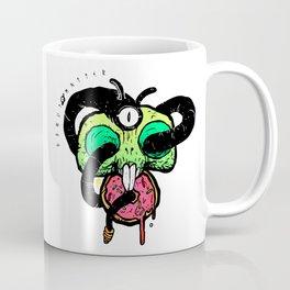 Hungry Bunny Skull Coffee Mug