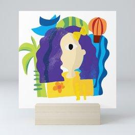 Is that Leela? Mini Art Print