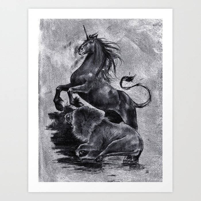 The Savage and The Untamed Art Print
