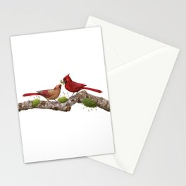 Northern  Cardinals Stationery Cards