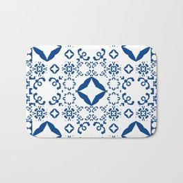 Moroccan pattern Bath Mat