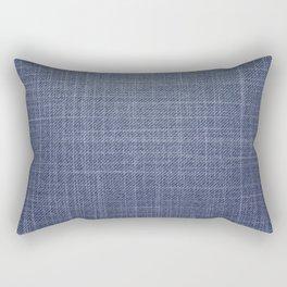Jeans pattern Rectangular Pillow