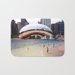 Chicago vs. Dubrovnik Bath Mat