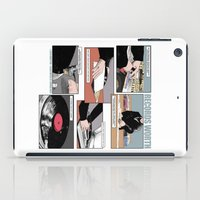 records iPad Cases featuring Records Worth by Zombie Rust