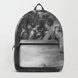 Frans Francken the Younger - Die hl Veronika reicht Christus das Schweißtuch Backpack