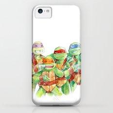 TMNT watercolor  iPhone 5c Slim Case