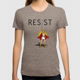 "She-Ra says ""RESIST"" T-shirt"