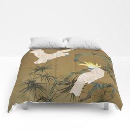 Wild Cockatoos Comforters