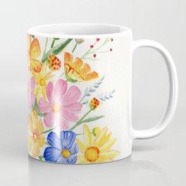 Loose Autumn Bouquet Coffee Mug