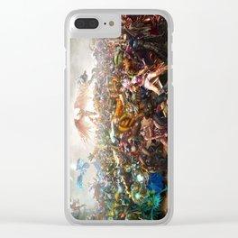 Full League Clear iPhone Case
