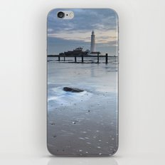 St Marys Lighthouse iPhone & iPod Skin