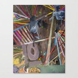 Go High Go Lo Canvas Print