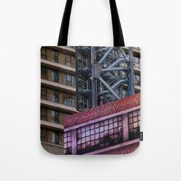 Manhattan Windows - West Side Story Tote Bag