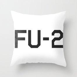 KAMIKAZE FU-2 Throw Pillow
