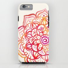 Watercolor Medallion in Sunset Colors Tough Case iPhone 6