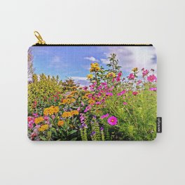 Cottage Garden Flowers Carry-All Pouch