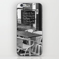 Lunch Under The Rain - Amsterdam iPhone & iPod Skin